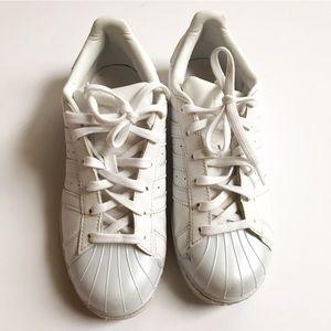 adidas Shoes - Adidas Originals Superstar Glossy Toe Trainers